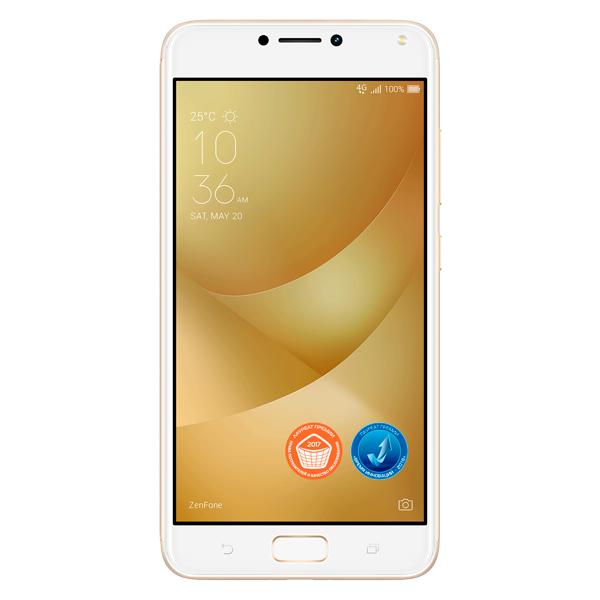 Смартфон ASUS ZenFone 4 Max ZC554KL 32Gb Gold (4G009RU) смарт часы asus zenwatch 3 wi503q rose gold розовое золото бежевый ремешок wi503q 3lbge0005 90nz0065 m00670