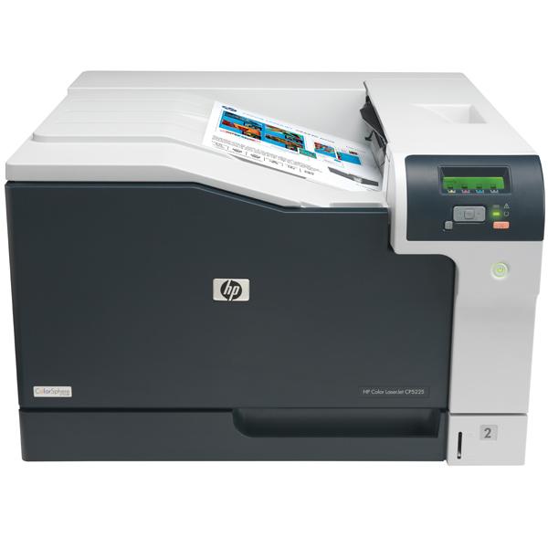 Лазерный принтер (цветной) HP Color LaserJet CP5225n принтер лазерный цветной hp color laserjet pro cp5225n a3 20 стр мин 192мб usb lan белый ce711a