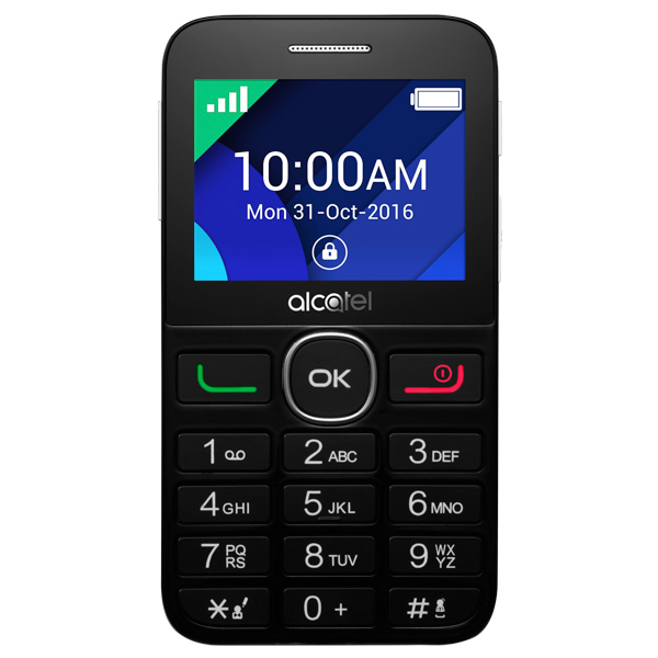 Мобильный телефон Alcatel 2008G Black/Pure White alcatel 2008g black