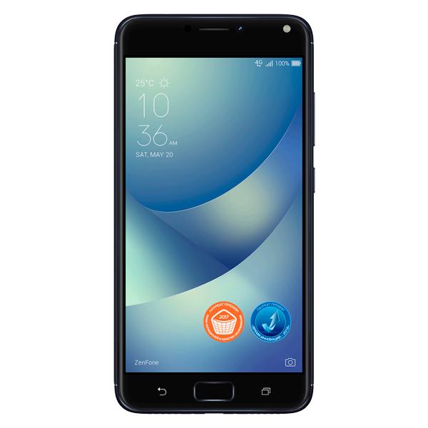 Смартфон ASUS ZenFone 4 Max ZC554KL 16Gb Black (4A008RU) asus zenfone max zc550kl 16gb black 6а020ru