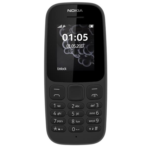 Мобильный телефон Nokia 105 Black (TA-1010)