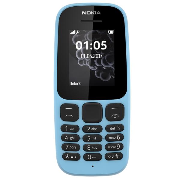 Мобильный телефон Nokia 105 Blue (TA-1010)