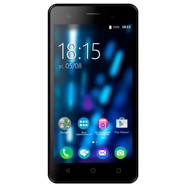 все цены на  Смартфон BQ mobile Strike Black Brushed (BQS-5020)  онлайн
