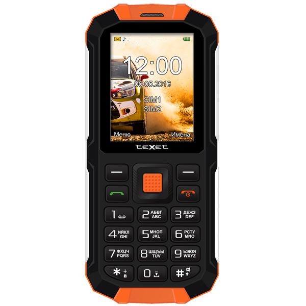 Мобильный телефон teXet TM-501R Black-Orange texet tm b117 black orange