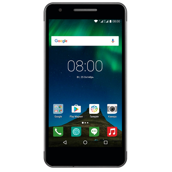Смартфон Philips Xenium X588 Black смартфон fly fs512 nimbus 10 4g lte 8gb black