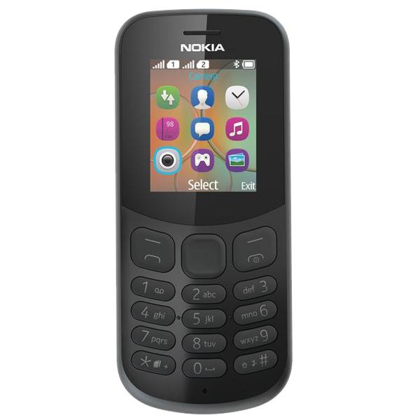 Мобильный телефон Nokia 130 DS Black (TA-1017)