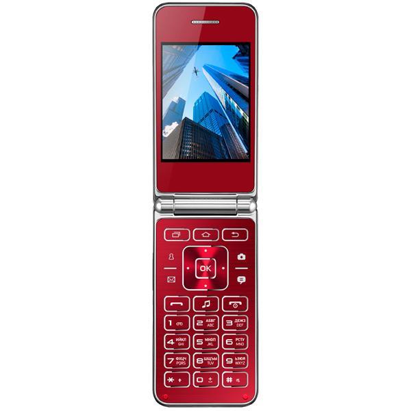 все цены на  Мобильный телефон Vertex S104 Red  онлайн