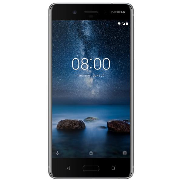 Смартфон Nokia 8 DS Steel (TA-1004)