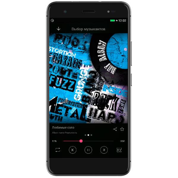 Смартфон Highscreen Fest XL Black карты памяти