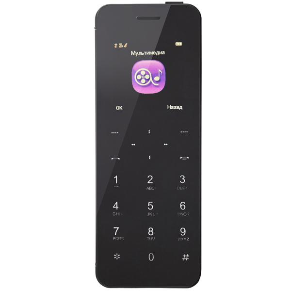 Мобильный телефон Lexand BT1 Glass карты памяти