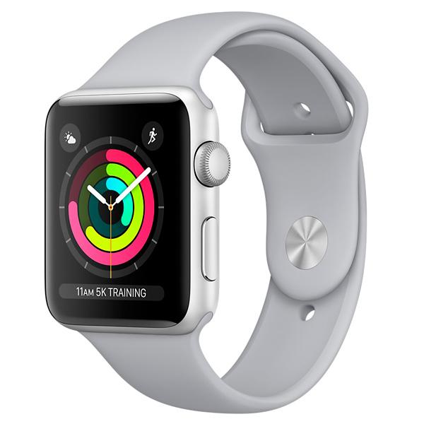 Смарт-часы Apple Watch S3 Sport 42mm Silver Al/Fog Band MQL02RU/A