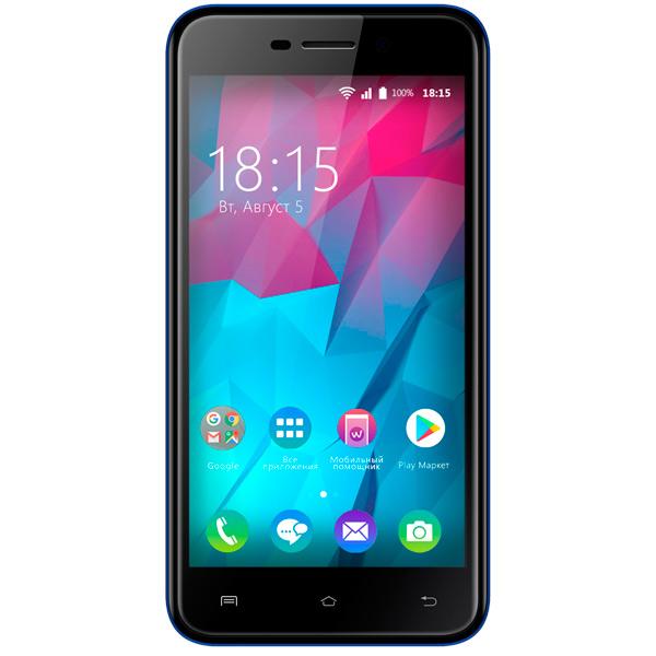 Смартфон BQ mobile Trend Dark Blue (BQ-5000L) смартфон bq mobile bq 5000l trend dark blue