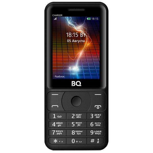 Мобильный телефон BQ mobile BQ-2425 Charger Black бесплатная доставка usb зарядки зарядка для док порт разъем разъем запасная часть для lg optimus 3d p920