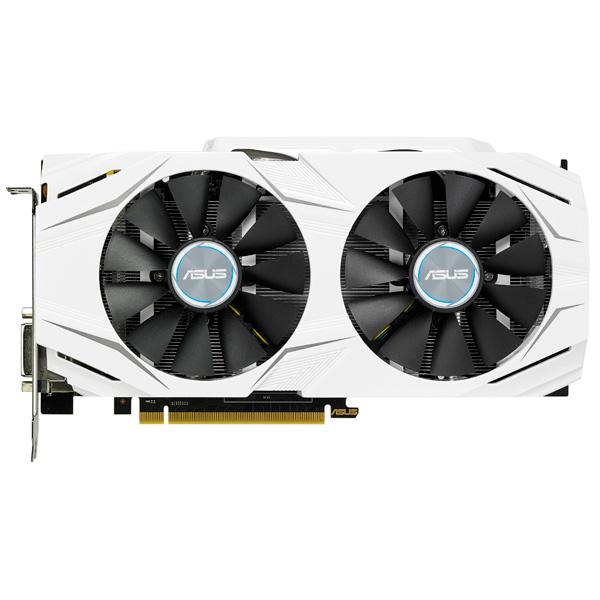 Видеокарта ASUS GeForceGTX 1060 3GB OC DUAL GDDR5