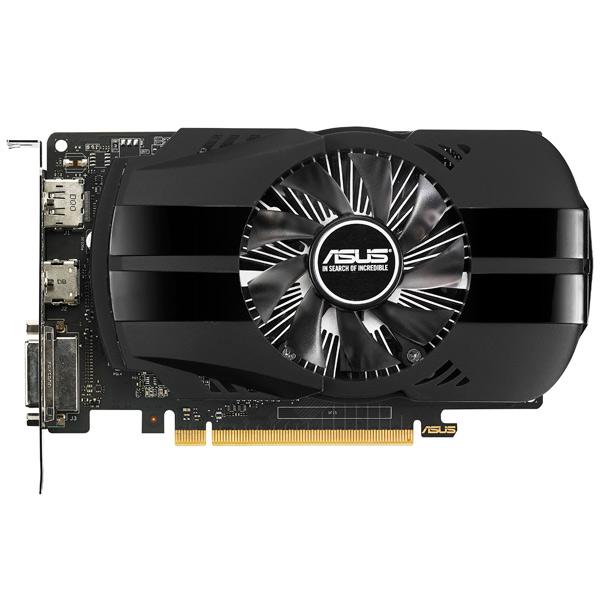 неттоп asus e810 b0354 g3240t 2 7ghz 4gb 500gb win8 1 90px0051 m00640 Видеокарта ASUS GeForce GTX 1050Ti 4GB Phoenix Fan Edition