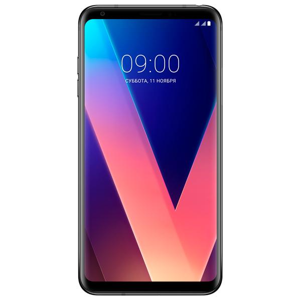 Смартфон LG V30+ Black (H930DS)