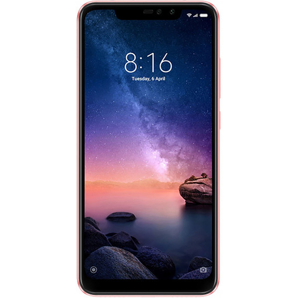 Смартфон Xiaomi Redmi Note 6 Pro 4+64GB Rose Gold