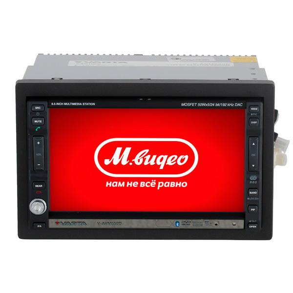 Автомобильная магнитола с DVD + монитор Varta V-AVM650D