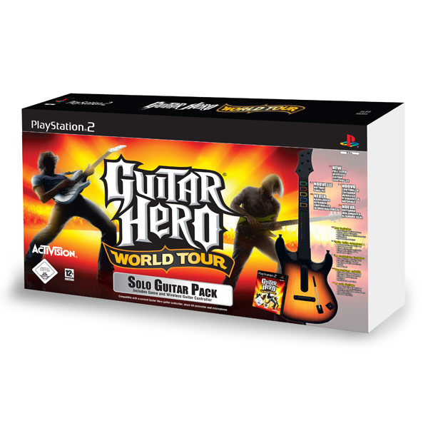 Игра для PS2 Медиа Guitar Hero World Tour GP