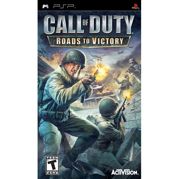 Игра для PSP Медиа Call of Duty:Roads To Victory Plat.