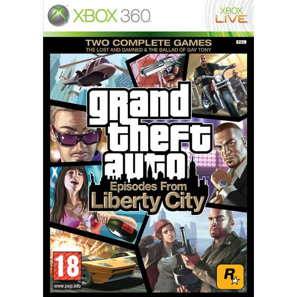 Игра для Xbox Медиа Grand Theft Auto:Episodes From Liberty City