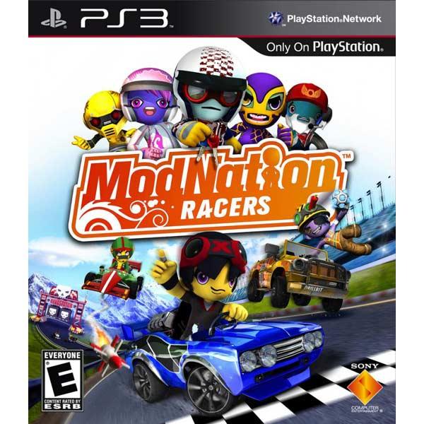 Игра для PS3 . ModNation Racers игра для ps3 ben 10 omniverse