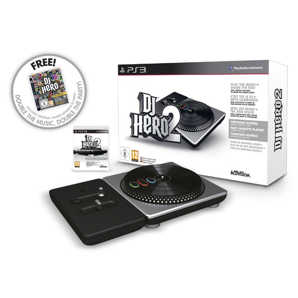 Игра для PS3 Медиа DJ Hero 2 Party Bundle + DJ Hero