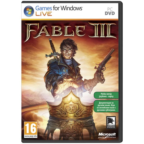 CD-ROM Fable 3 .