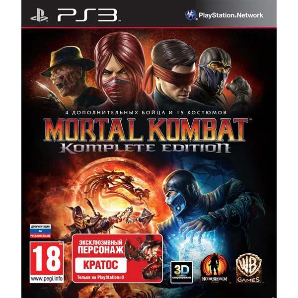 Игра для PS3 МедиаИгры для PlayStation 3 (PS3)<br>Язык: английский,<br>Жанр игры: файтинг,<br>Возрастное ограничение: 18+,<br>Краткое описание: Mortal Kombat.Komplete Edition<br>