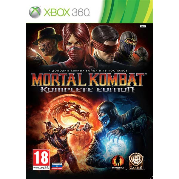 Игра для Xbox Медиа Mortal Kombat. Komplete Edition игра для pc wb interactive mortal kombat x