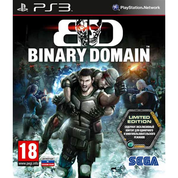 Игра для PS3 Медиа Binary Domain Limited Edition