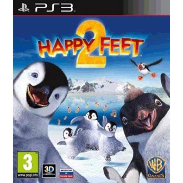 Игра для PS3 МедиаИгры для PlayStation 3 (PS3)<br>Режим 3D: Да,<br>Краткое описание: Happy Feet 2,<br>Жанр игры: приключения,<br>Язык игры: русский (инструкция), английский (игра),<br>Возрастное ограничение: 3+<br>