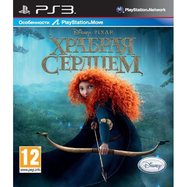 Игра для PS3 Медиа Disney Храбрая сердцем