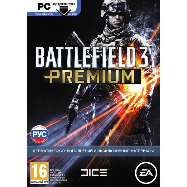Видеоигра для PC Медиа Battlefield 3 Premium (только код, без диска)