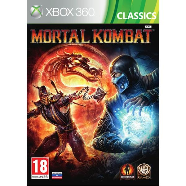 Игра для Xbox . Mortal Kombat (Classics)