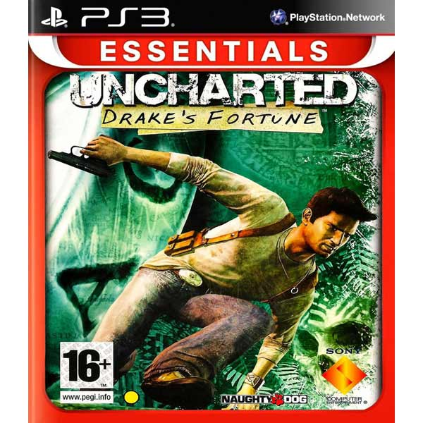 Игра для PS3 Медиа Uncharted: Drake`s Fortune Essentials