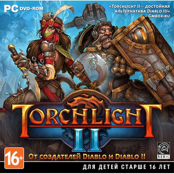 Купить Видеоигра для PC Медиа Torchlight 2