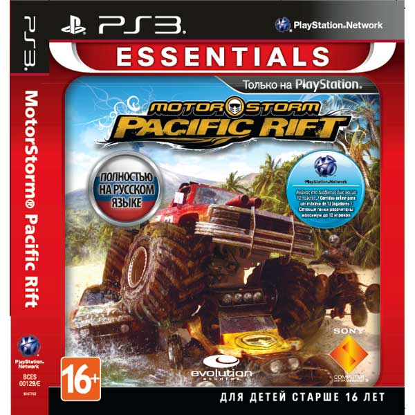 Игра для PS3 Медиа Motorstorm Pacific Rift (Essentials)