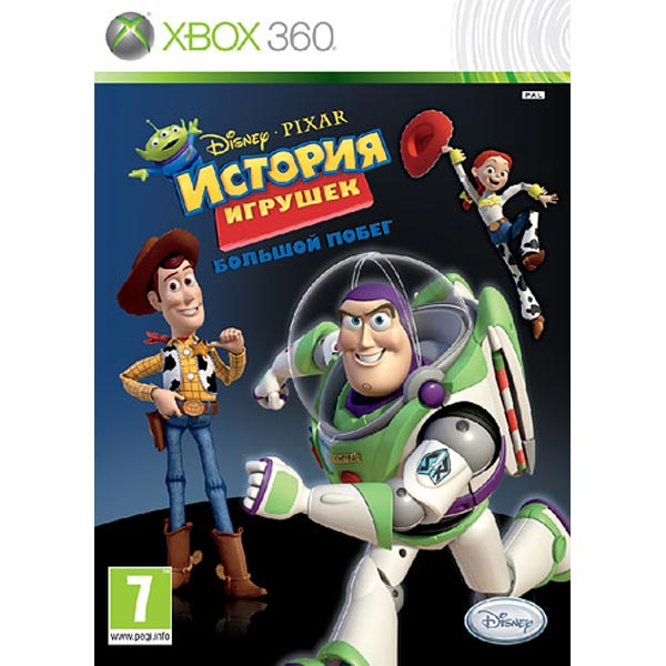 Игра для Xbox МедиаИгры к XBOX 360<br>Жанр игры: приключения,<br>Язык игры: русский,<br>Краткое описание: История игрушек 3: Большой побег Classics,<br>Возрастное ограничение: 7+<br>