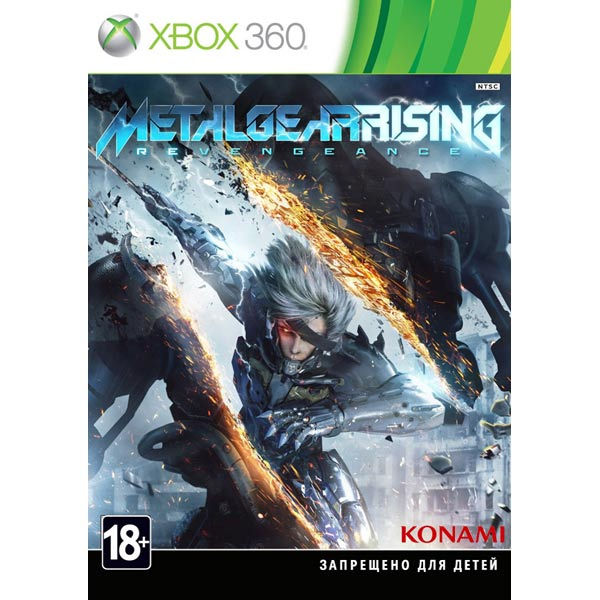Игра для Xbox Медиа Metal Gear Rising: Revengeance
