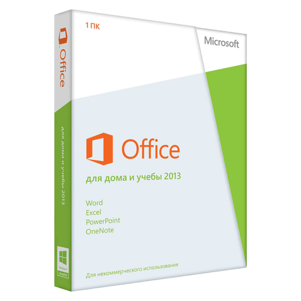ПО Office Home&Student2013 DVD Microsoft