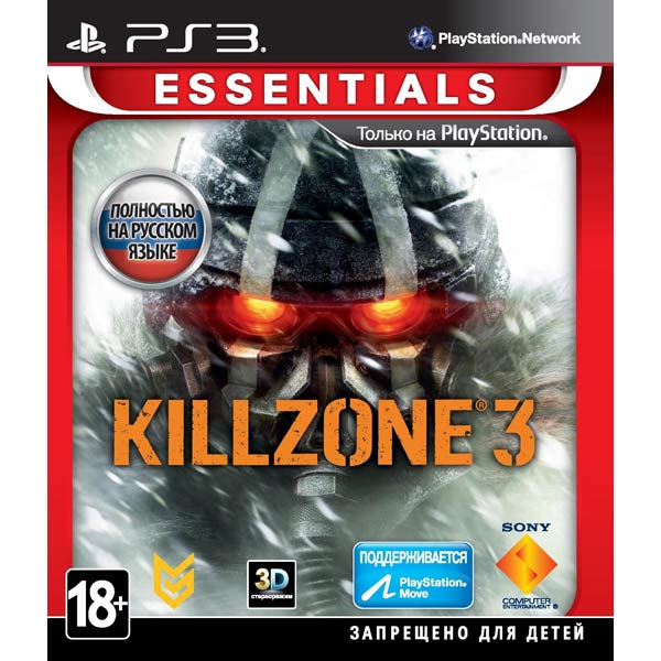 Игра для PS3 Медиа Killzone 3 Essentials