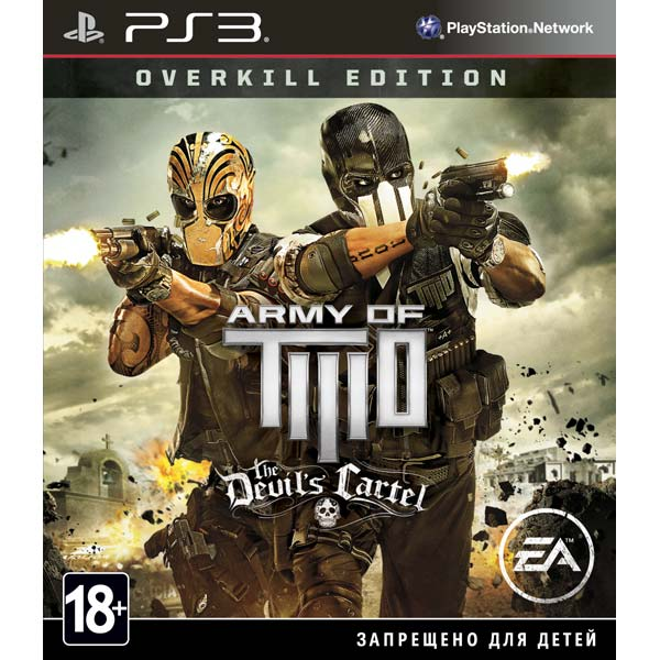 Игра для PS3 Медиа Army Of Two:The Devil's Cartel Overkill Edition