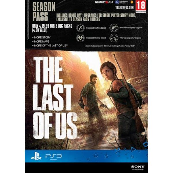 Игра для PS3 Медиа Одни из нас. Карта оплаты. Season Pass