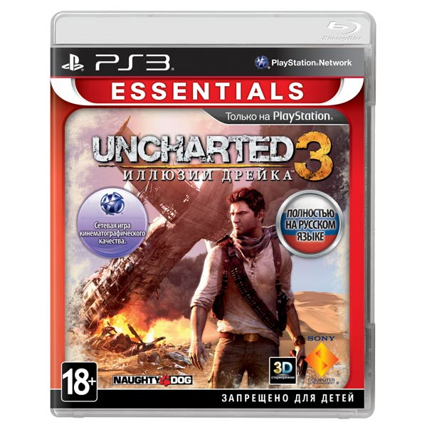 ���� ��� PS3 ����� Uncharted 3. ������� ������ Essentials