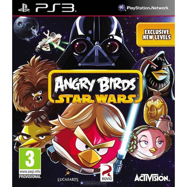 ���� ��� PS3 ����� Angry Birds Star Wars
