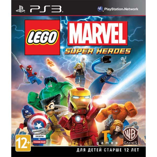 Игра для PS3 Медиа LEGO Marvel Super Heroes