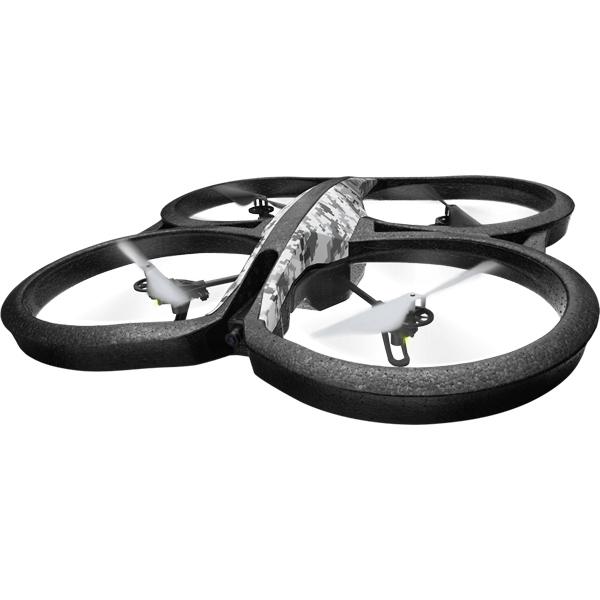 Радиоуправляемый квадрокоптер Parrot AR.Drone 2.0 Elite Edition Snow (PF721821)