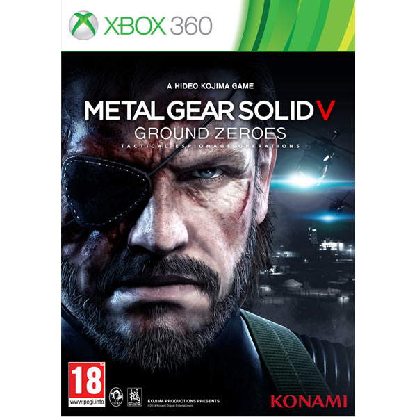 Игра для Xbox Медиа Metal Gear Solid V: Ground Zeroes