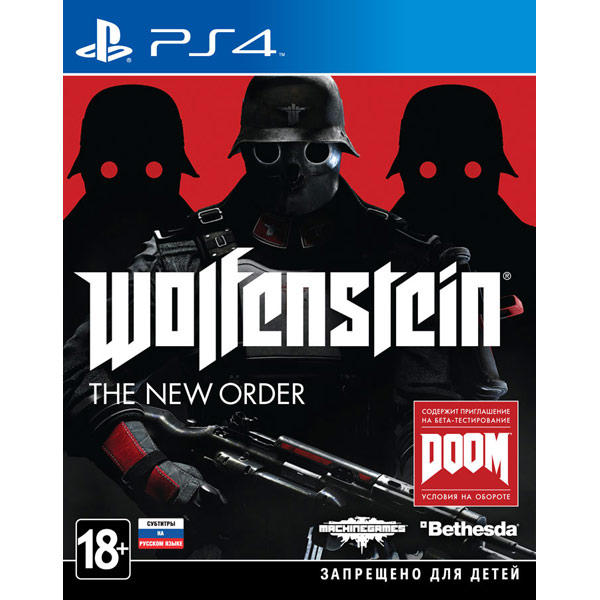 Видеоигра для PS4 Медиа Wolfenstein:The New Order